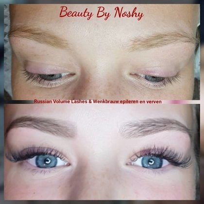 Beauty By Noshy One by One & Brow tinting